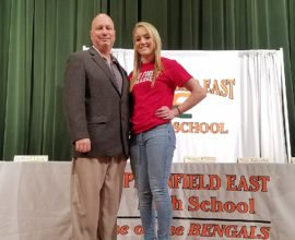 Hannah Kalnicky signing day lake forest college.